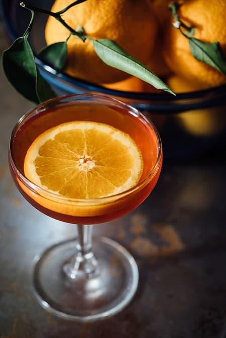 見た目もかわいい季節のフルーツ酒