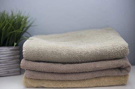 タオルの替え時は洗濯した回数or半年