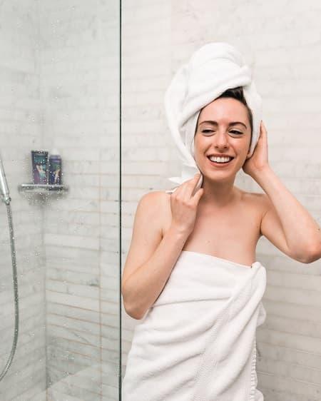 ヘアドライタオルで髪を乾かす時間を楽しく、短く!