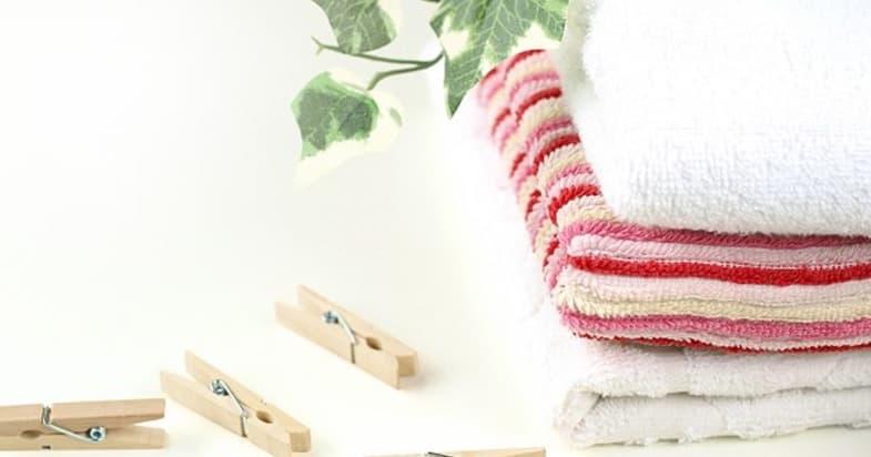 タオルをふわふわに復活させる4つの方法