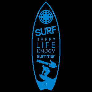 SURF HAPPY LIFE