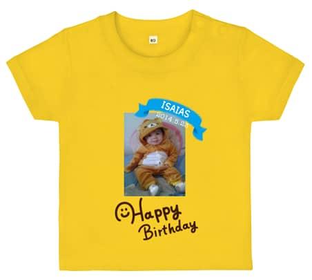 写真入りのオリジナルTシャツ