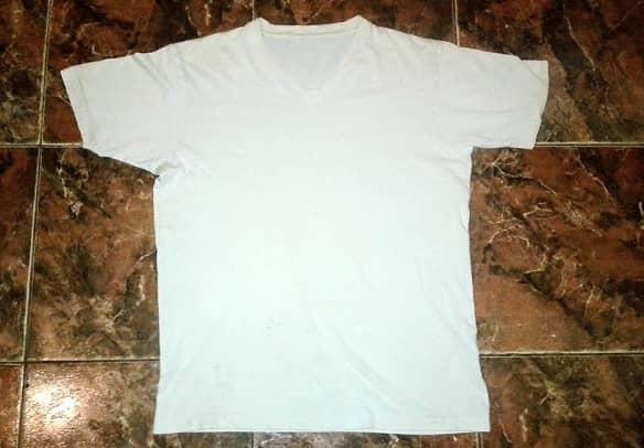 Tシャツの正しい測り方