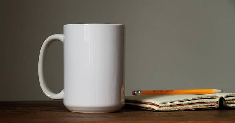 オリジナルデザインのマグカップの作ろう