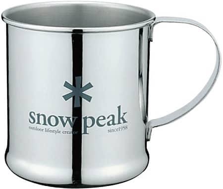 スノーピークのステンレスマグカップ