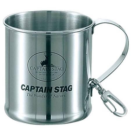 キャンプスタッグのレジェルテ ステンレスマグカップ