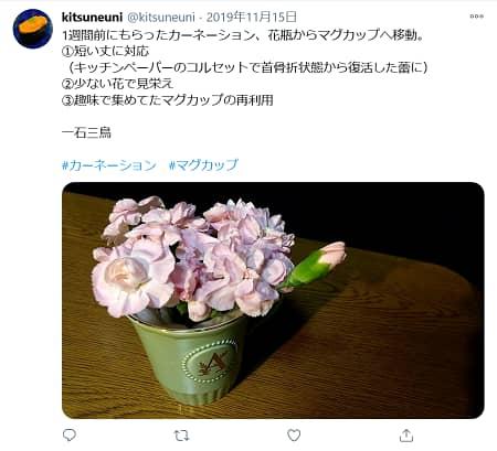 花瓶にする