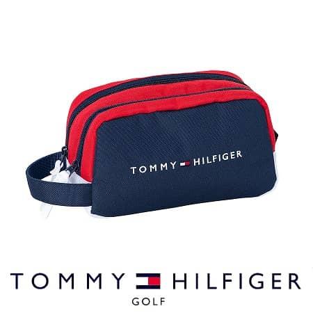 トミーヒルフィガー ゴルフラウンドポーチ
