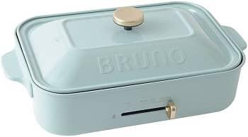 参照:BRUNO(ブルーノ) コンパクトホットプレート プレート2種(たこ焼き 平面)