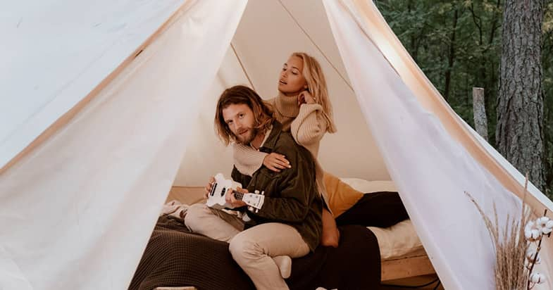 グランピングでよく使われるテントってどんなテント?