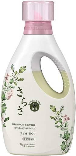 参照:さらさ 無添加 植物由来の成分入り 洗濯洗剤 液体 本体 850g