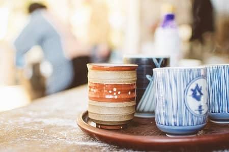 陶芸品、湯呑