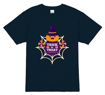 SPIDER TRICK OR TREAT ハロウィンTシャツ