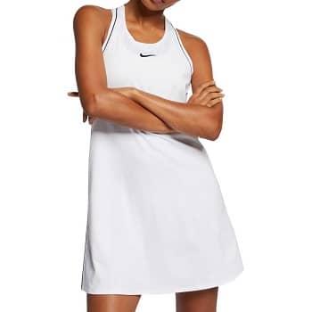 1. ナイキ Nike レディース テニス ワンピース トップス【Court Dry Tennis Dress】White/Black