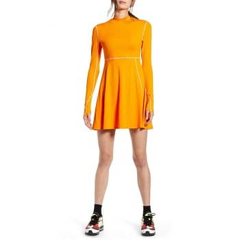 ナイキOlivia Kim NRG Long Sleeve Performance Tennis Dress
