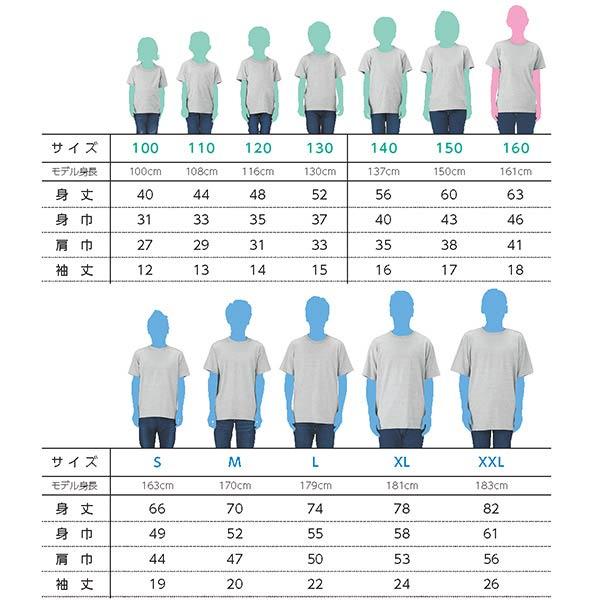 定番Tシャツのサイズごとの着用感