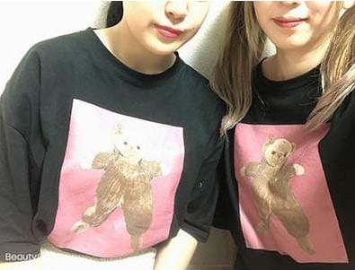 ビックシルエットTシャツのプリント作成事例:ゆかお さん