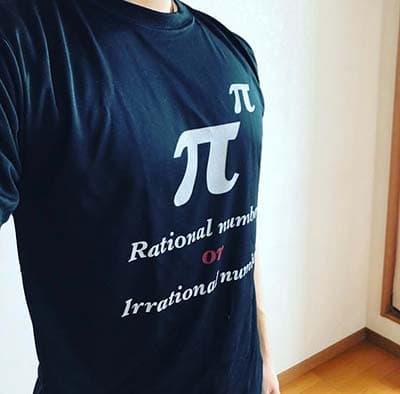ドライシルキータッチTシャツのプリント作成事例:とも さん