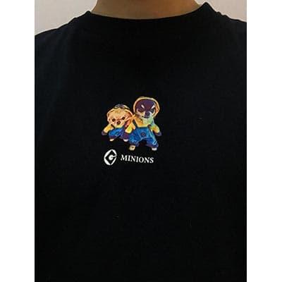スーパーヘビー長袖Tシャツのプリント作成事例:かのけん さん