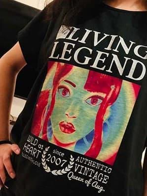 ウィメンズドルマンTシャツのプリント作成事例:30代・女性・doamna さん