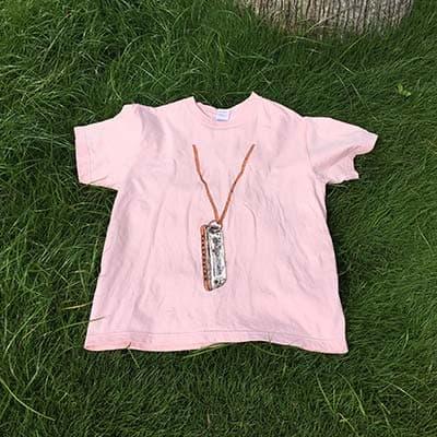スーパーヘビーTシャツのプリント作成事例:KUMA さん