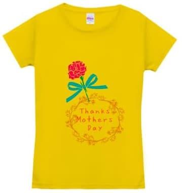 ドライシルキータッチXラインTシャツのデザインプリント例