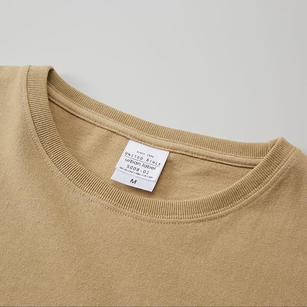 オーバーサイズTシャツの首周り
