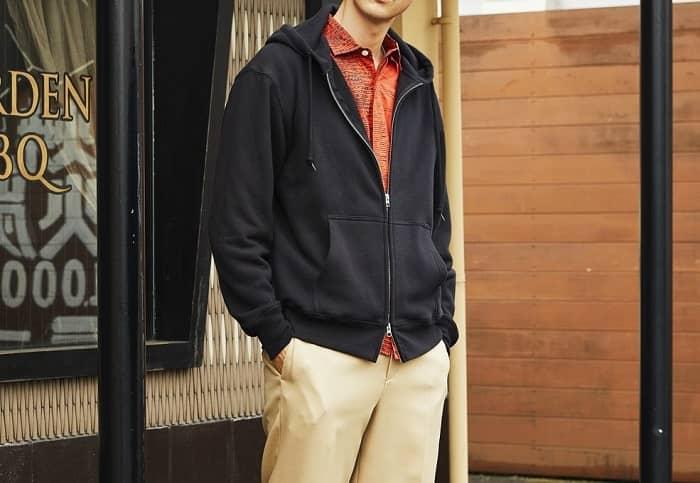 着用イメージ:男性モデル 身長184cm XLサイズ着用