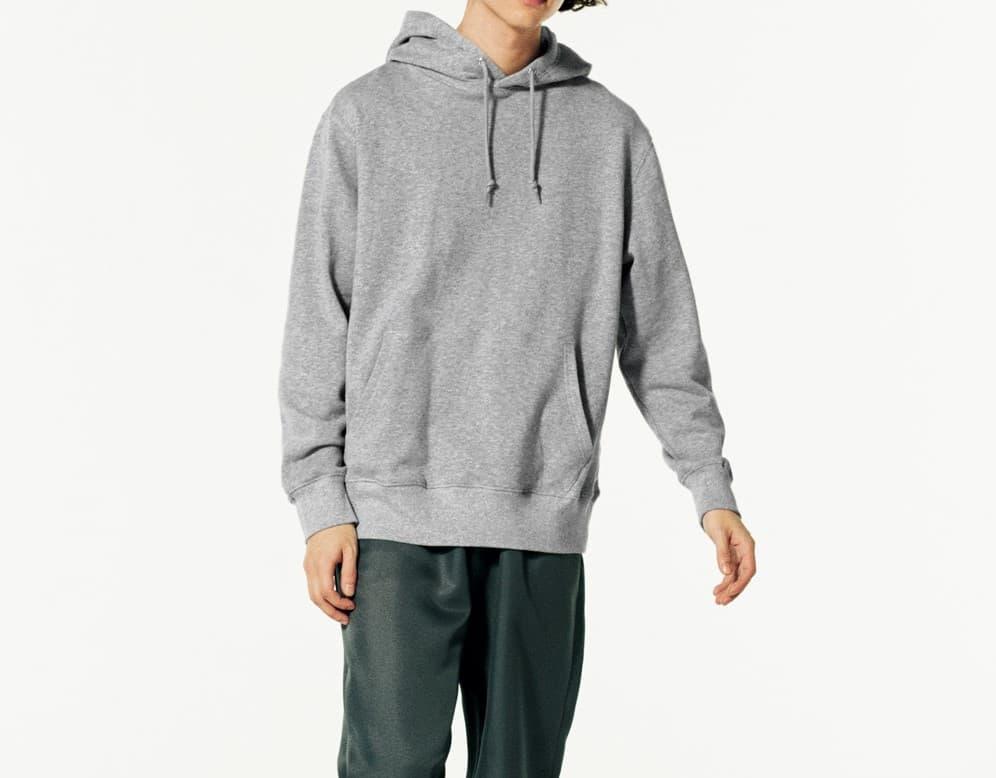 着用イメージ:男性モデル 身長175cm Lサイズ着用