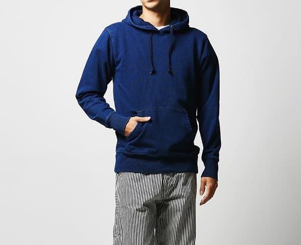 着用イメージ:男性モデル 身長182cm Lサイズ着用