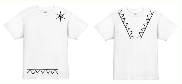 Tシャツデザインサンプル