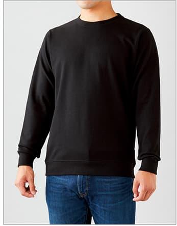 着用イメージ:男性モデル 身長175cm Mサイズ着用