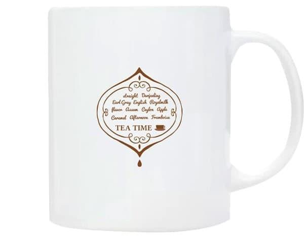 ワンポイントマグカップのプリント例