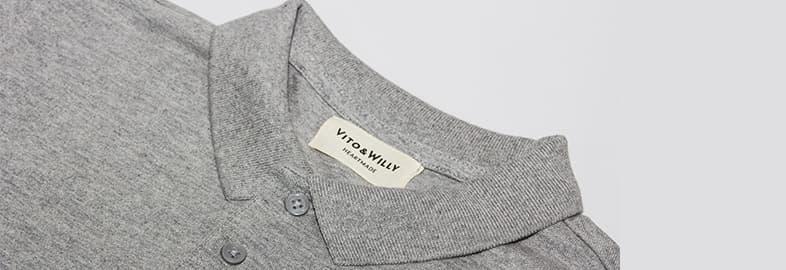 ポロシャツの襟の種類