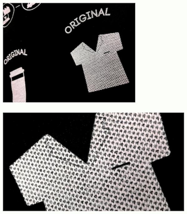 ポロシャツの生地