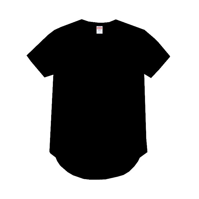 ラウンドテールドライTシャツ