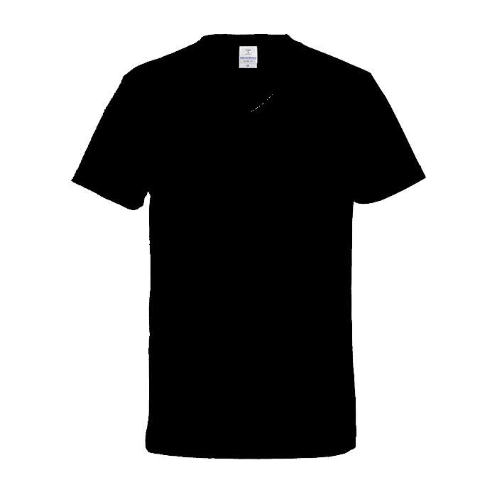 ファインジャージーVネックTシャツ