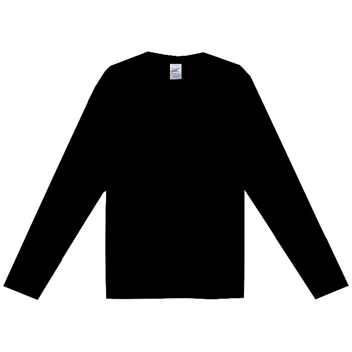 オープンエンドマックスウェイトロングスリーブTシャツ(リブ無し)