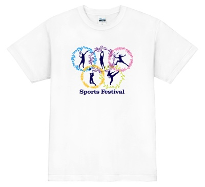 スポーツイベントに合う幹事Tシャツ