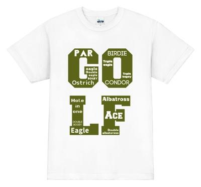 グラフィカルなゴルフTシャツ