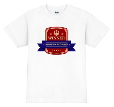 オリジナル バスケットボールTシャツ 優勝記念