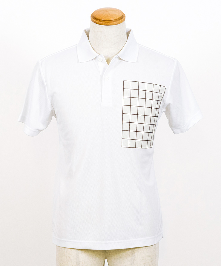 ライトドライポロシャツ 表