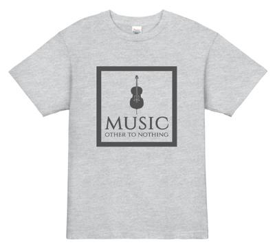 クラシカルなムードが漂うシックなデザインのバンドTシャツ