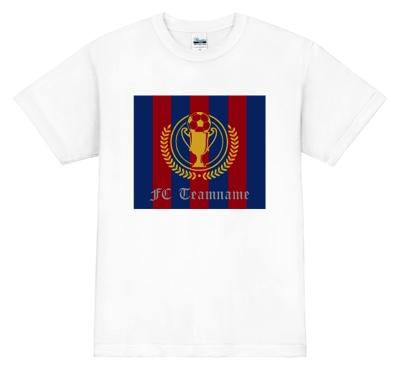バルセロナ風デザイン! サッカー・フットサル ユニフォーム