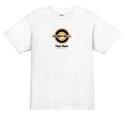 オリジナル バスケットボールTシャツ ミニマム&シンプル