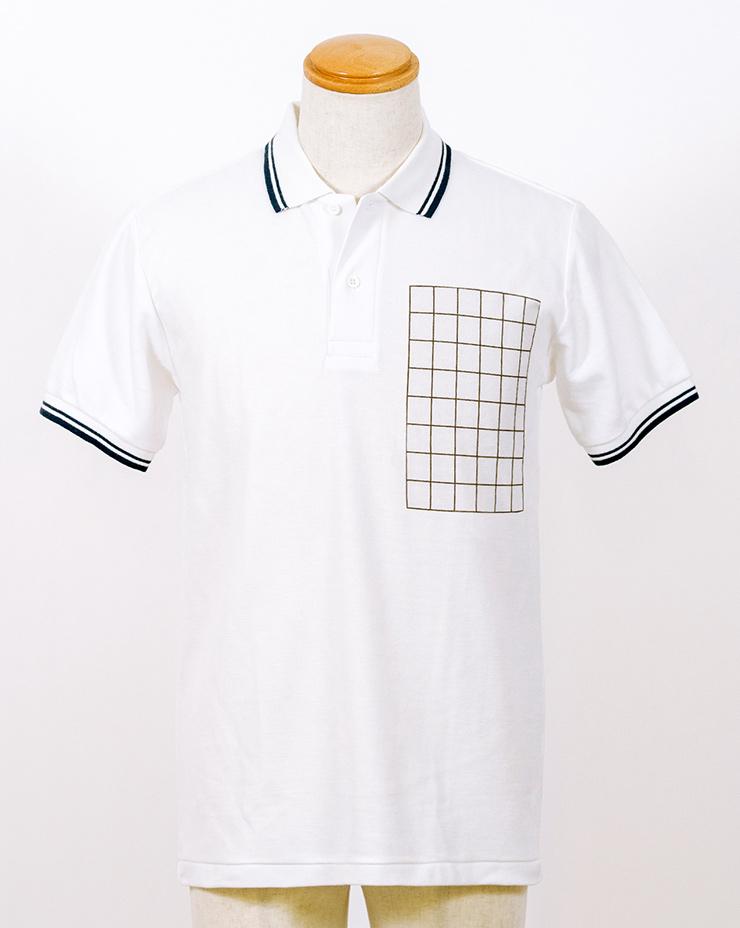 ラインポロシャツ 表