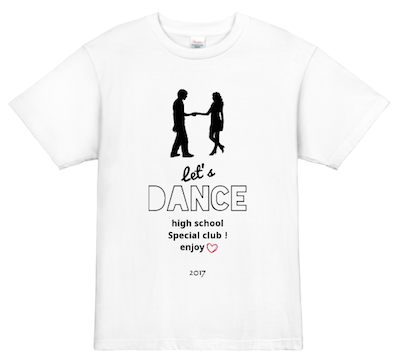 オリジナルダンスTシャツ