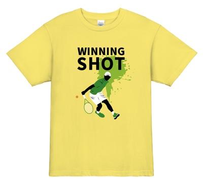 ウィニングショットで勝利を彩るテニスTシャツ
