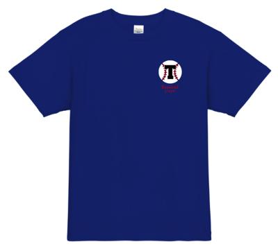 チーム名の頭文字を使った、ミニマムな野球チームのユニフォームデザイン