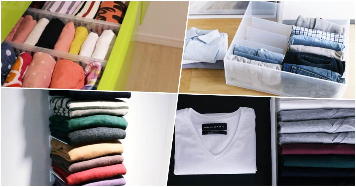【簡単】ポロシャツを綺麗に畳んで収納する方法とコツ